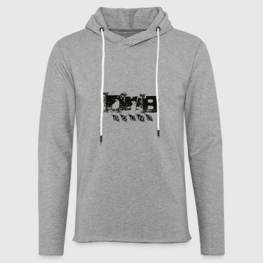 DNB Sound - Sweat-shirt à capuche léger unisexe