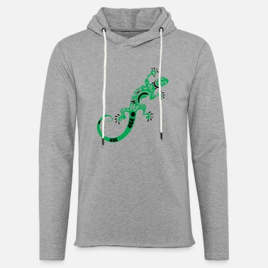 Réduction Limited Edition Lizard - Sweat-shirt à capuche léger unisexe