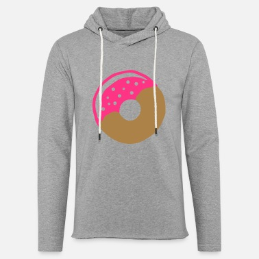 Frost Donut with frosting - Light Unisex Sweatshirt Hoodie