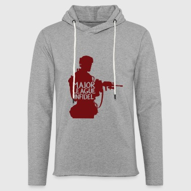 Military / Soldiers: Major League Infidel - Light Unisex Sweatshirt Hoodie