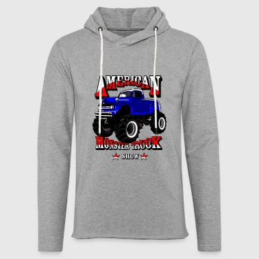 Monster truck - Light Unisex Sweatshirt Hoodie