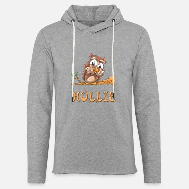 Holly Owl Hollie - Light Unisex Sweatshirt Hoodie