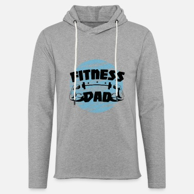 Fitness Dad Strength Training Bodybuilding Gym - Lett unisex hettegenser