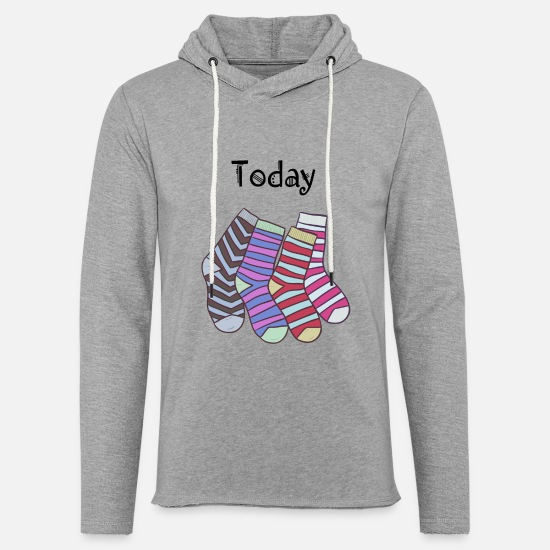 Suck Hoodies & Sweatshirts - Today Socks! - Unisex Sweatshirt Hoodie heather grey