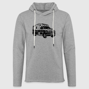 Ambulance Ambulance / ambulance 01_black - Light Unisex Sweatshirt Hoodie