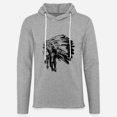 American Indian Indian face American Illustration - Unisex Sweatshirt Hoodie