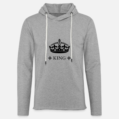 Queen King King Crown Queen - Unisex Sweatshirt Hoodie