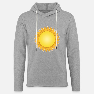 Tournesol tournesol tournesol - Sweat-shirt à capuche léger unisexe