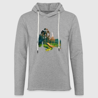 bear - Light Unisex Sweatshirt Hoodie
