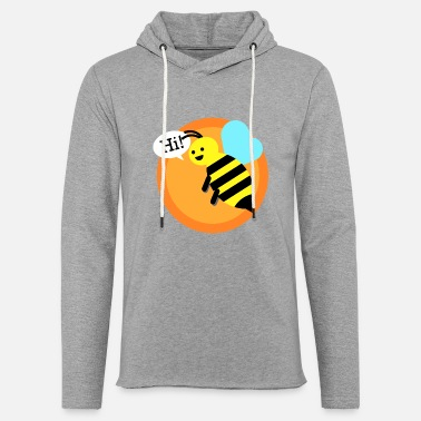 Bumble Bee Cool bumble bee - Light Unisex Sweatshirt Hoodie
