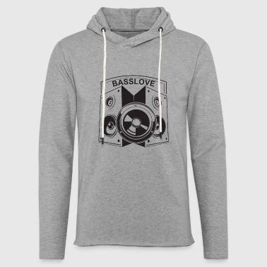 Subwoofer Basslove subwoofer speakers Loud music - Light Unisex Sweatshirt Hoodie