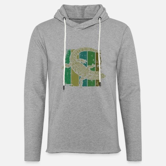 Crocodile Hoodies & Sweatshirts - Alligator lizard - Unisex Sweatshirt Hoodie heather grey