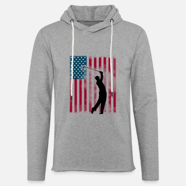 Usa Golfspiller Hit usa flag handicap Birdy - Unisex let hættetrøje