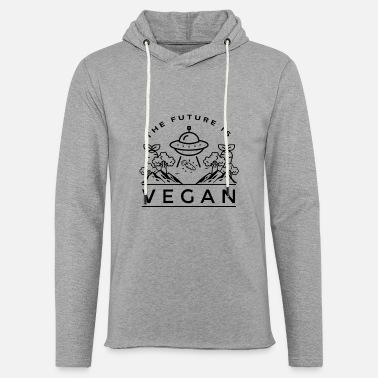 VEGAN - Sweat-shirt à capuche léger unisexe