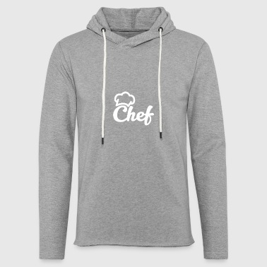 Cool Chef Hat Cooking cooks and chefs gift - Light Unisex Sweatshirt Hoodie