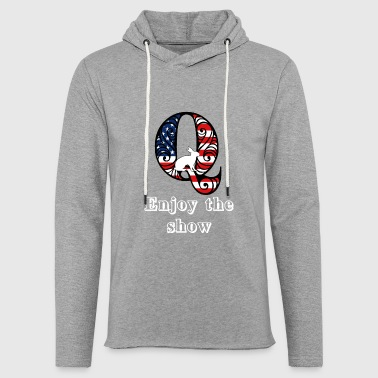 Wikileaks Enjoy the show - Light Unisex Sweatshirt Hoodie