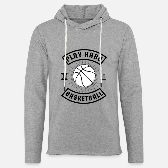 Gift Idea Hoodies & Sweatshirts - Basketball Streetball B ball - Unisex Sweatshirt Hoodie heather grey