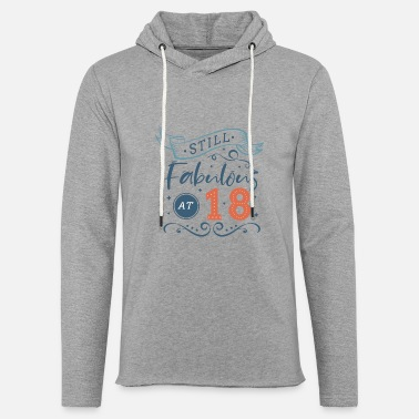 Date Of Birth 18th birthday - fabulous - Unisex Sweatshirt Hoodie