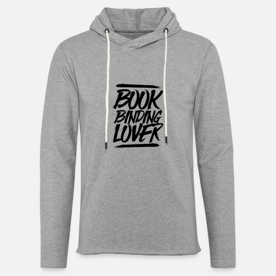Gift Idea Hoodies & Sweatshirts - Bookbinders bookbinding - Unisex Sweatshirt Hoodie heather grey