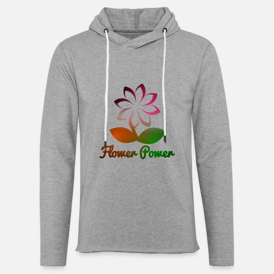 Garden Hoodies & Sweatshirts - flower power - Unisex Sweatshirt Hoodie heather grey