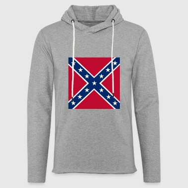 Battle flag of the Confederate States of America - Light Unisex Sweatshirt Hoodie