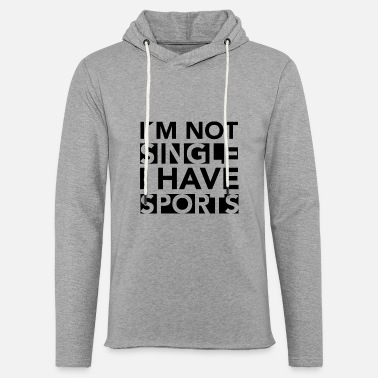 Sport Single Gift Idea - Light Unisex Sweatshirt Hoodie