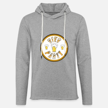 Bier Party - Unisex Kapuzen-Sweatshirt