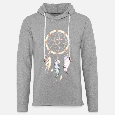 Dream dream catcher - Light Unisex Sweatshirt Hoodie
