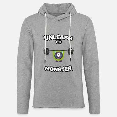 Lifting Unleash the Monster - Unisex Sweatshirt Hoodie