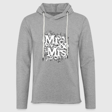 Mr and Mrs - Light Unisex Sweatshirt Hoodie