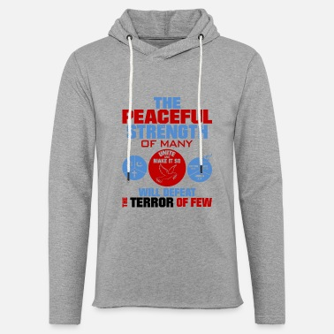 United against terrorism - Unisex Sweatshirt Hoodie
