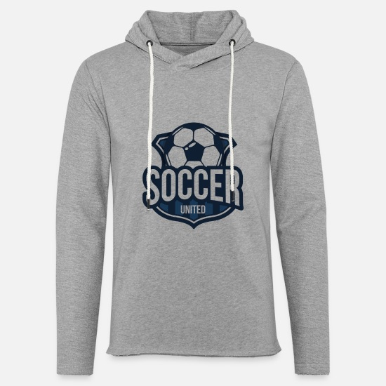 Soccer Hoodies & Sweatshirts - Football club - Unisex Sweatshirt Hoodie heather grey