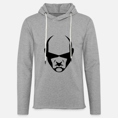 balded head - Unisex Kapuzen-Sweatshirt