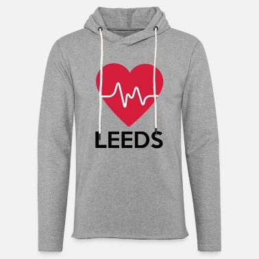 Leeds heart Leeds - Light Unisex Sweatshirt Hoodie