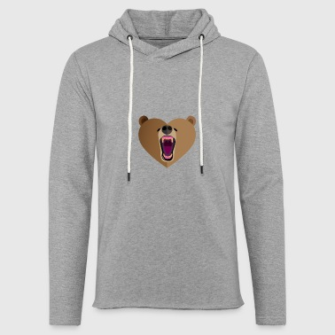 Grizzly Grizzly Amor - Sudadera ligera unisex con capucha
