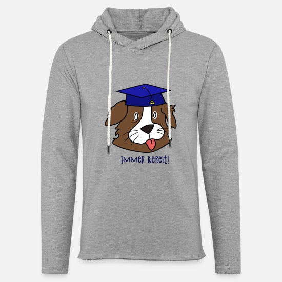 Always Hoodies & Sweatshirts - Student Doggy Always Ready - Unisex Sweatshirt Hoodie heather grey