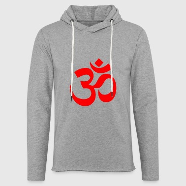 Mantra mantra om - Light Unisex Sweatshirt Hoodie