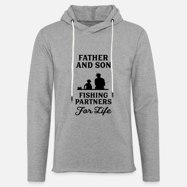 Partner Father And Son Fishing Partners For Life - Unisex Sweatshirt Hoodie