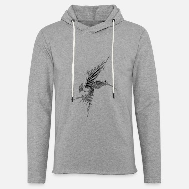 Graphic Art Mandala Bird Geometric Graphic Art Tattoo Bird - Unisex sweatshirt hoodie