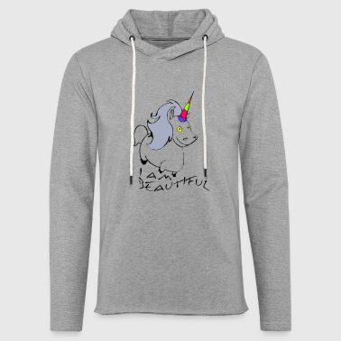 I AM BEAUTIFUL - Light Unisex Sweatshirt Hoodie