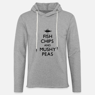 Fish Chips and Mushy Peas PNG - Unisex Sweatshirt Hoodie