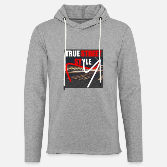 Rap Hoodies & Sweatshirts - True Street Style - Unisex Sweatshirt Hoodie heather grey