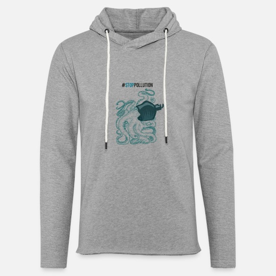 Enviromental Hoodies & Sweatshirts - Stop Pollution - Unisex Sweatshirt Hoodie heather grey