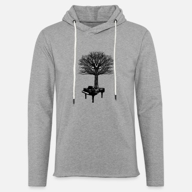 Piano piano - Light Unisex Sweatshirt Hoodie