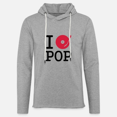 Musical I dj / play / listen to pop - Unisex Kapuzen-Sweatshirt