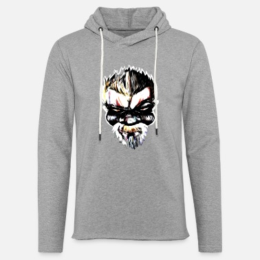 Gangster Badass Streetart Comic Boss - Light Unisex Sweatshirt Hoodie