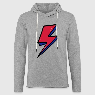 lightning bolt 1 - Light Unisex Sweatshirt Hoodie