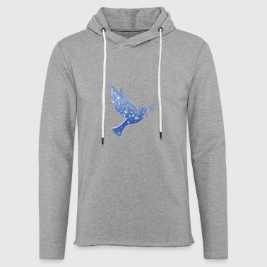 Dove in blue Peace Dove Peace - Light Unisex Sweatshirt Hoodie