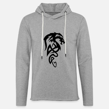 Tribal Dragon Tribal Dragon - Felpa con cappuccio leggera unisex
