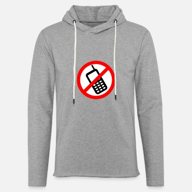 Mobile Phone Mobile phone ban Switch off mobile phone - Unisex Sweatshirt Hoodie